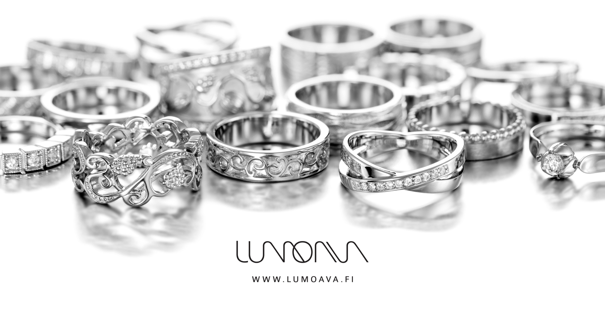 Lumoava Weddin Ring