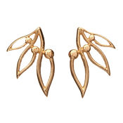 GOLD EARRINGS LUMOAVA PIHLA