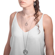 Lumoava Enchanted big pendant, small pendat and earrings