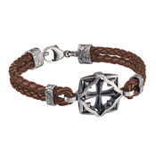 Lumoava Warrior bracelet, brown