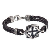Lumoava Warrior bracelet, black