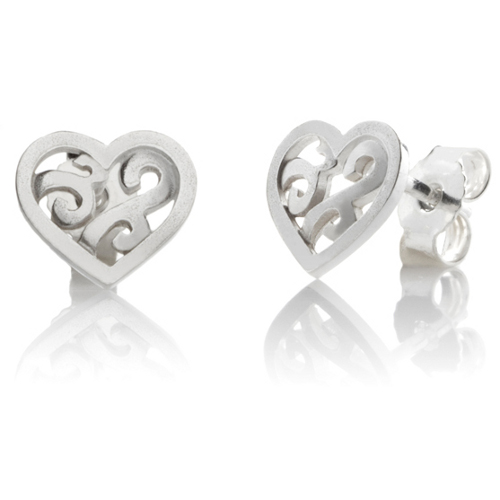 Lupaus earrings heart