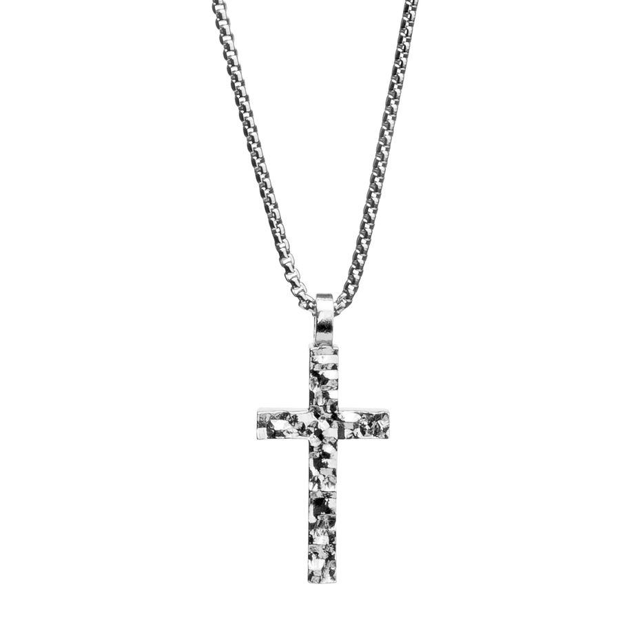 Lumoava Path cross pendant