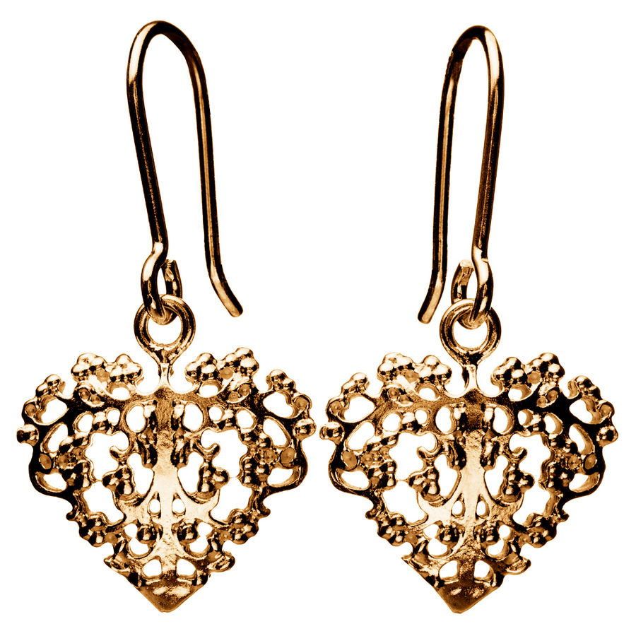 Lumoava Bella earrings, gold plated