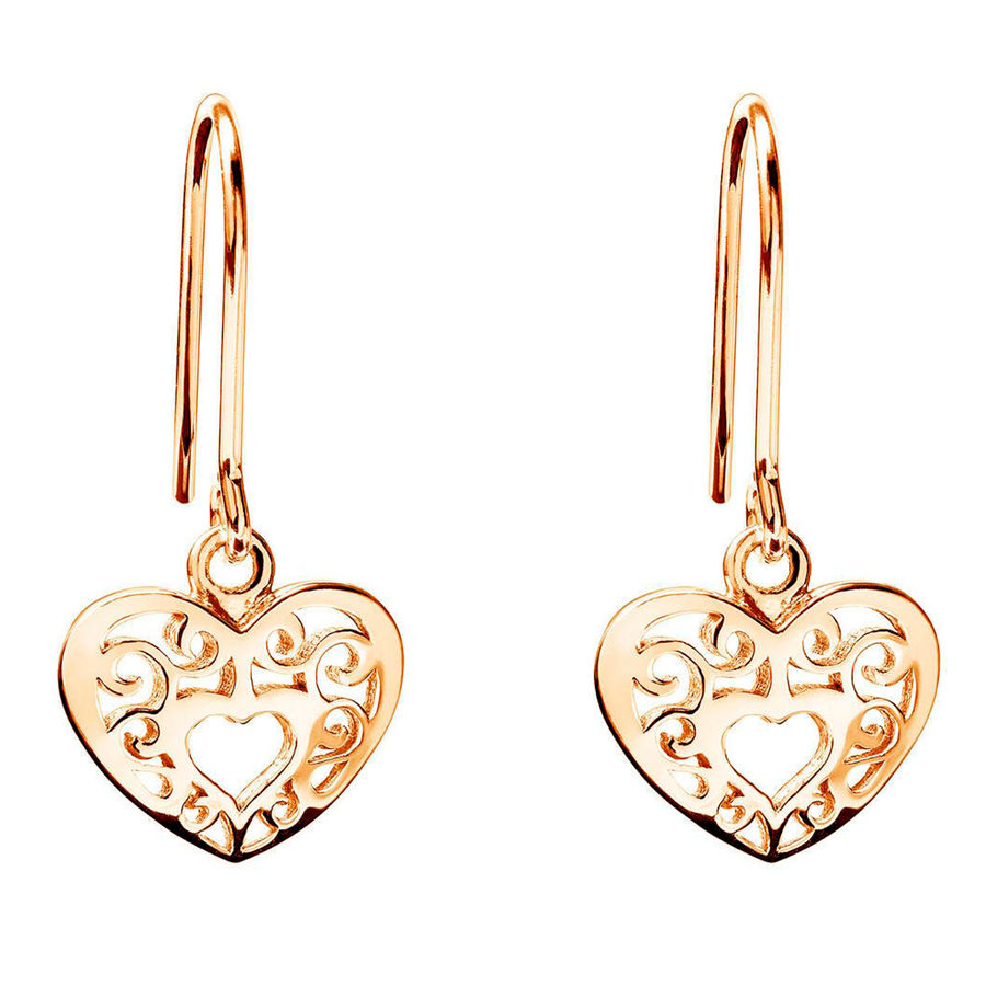 Lumoava Joy earrings, yellow gold plated