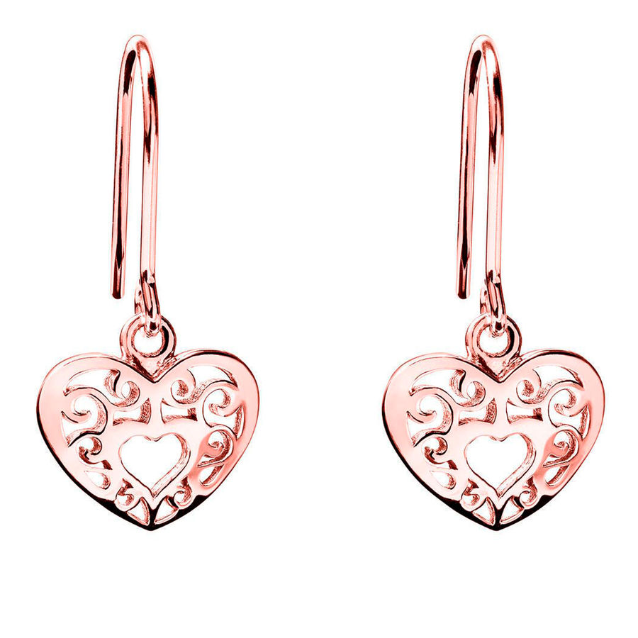 Lumoava Joy earrings, rose gold plated