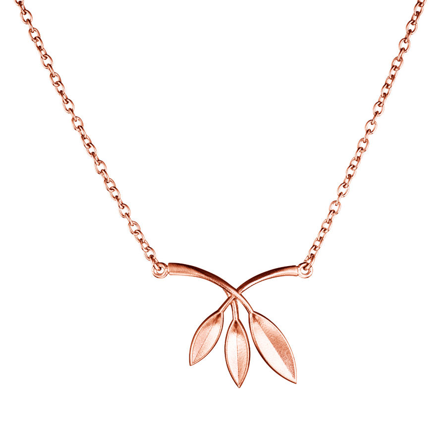Lumoava Morrow pendant (rose gold plated)