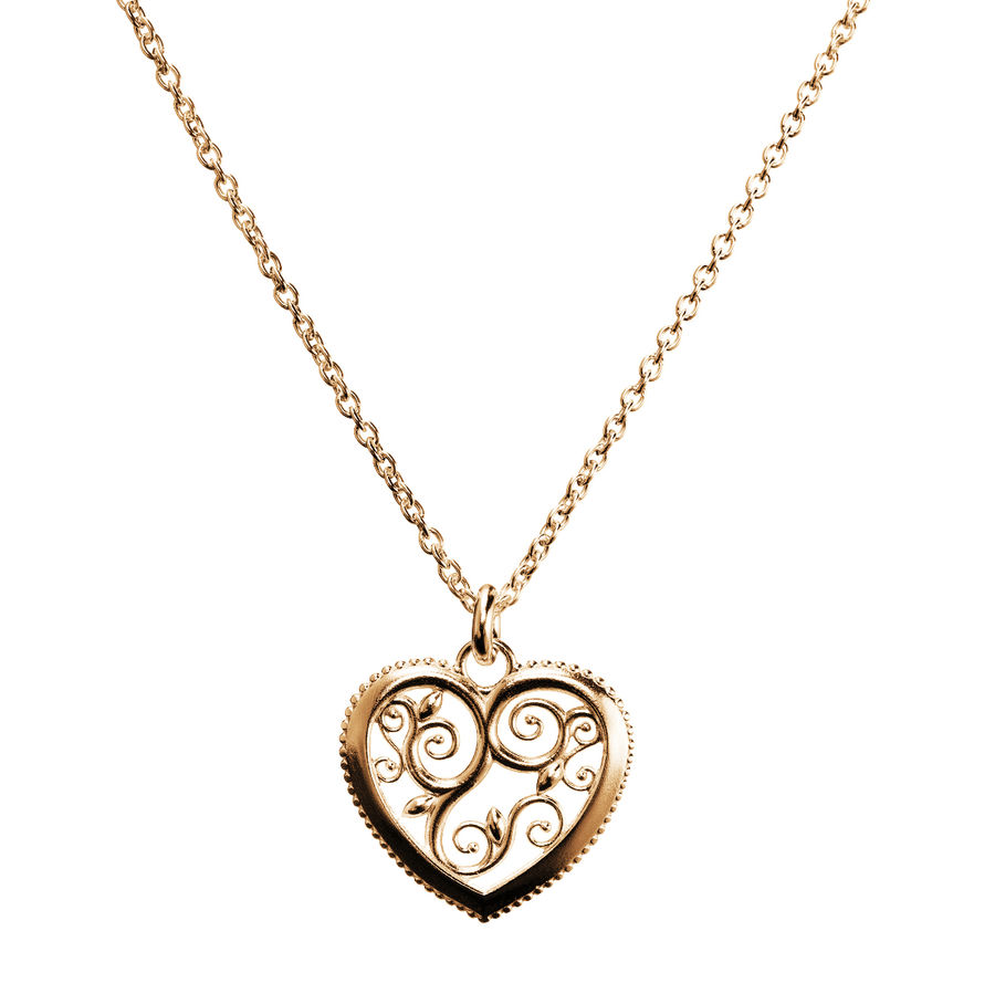 Lumoava Hearts pendant (gold plated)