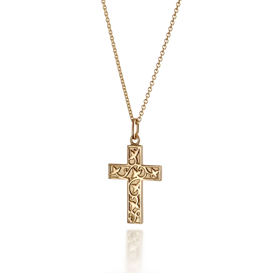 Lumoava Delicate gold cross