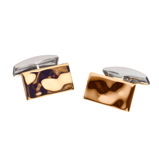 Lumoava Honey cufflinks, gold