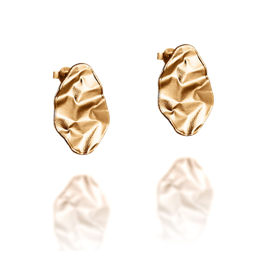 Lumoava Ebb gold earrings