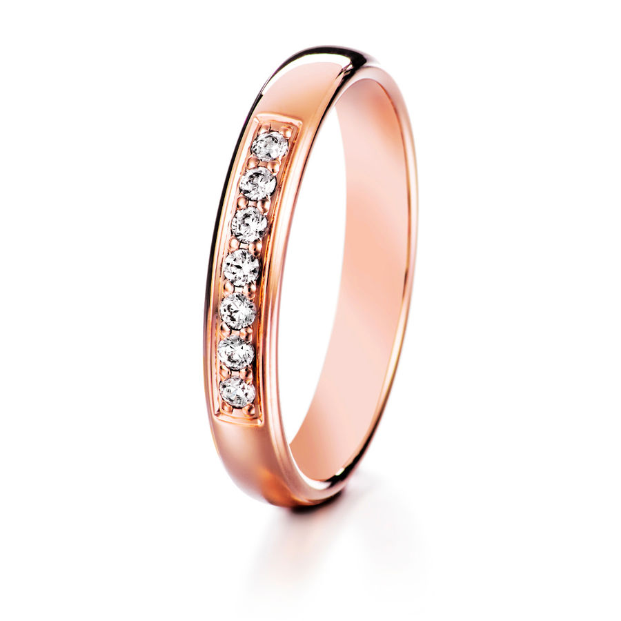 Lumoava Darling diamond ring (rose gold)