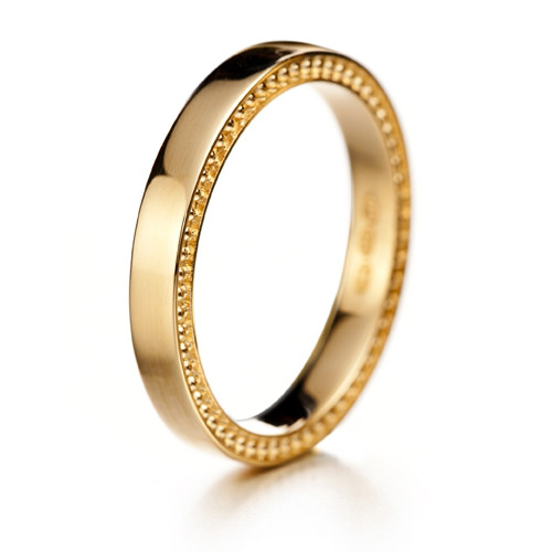 Lumoava I do yellow gold ring
