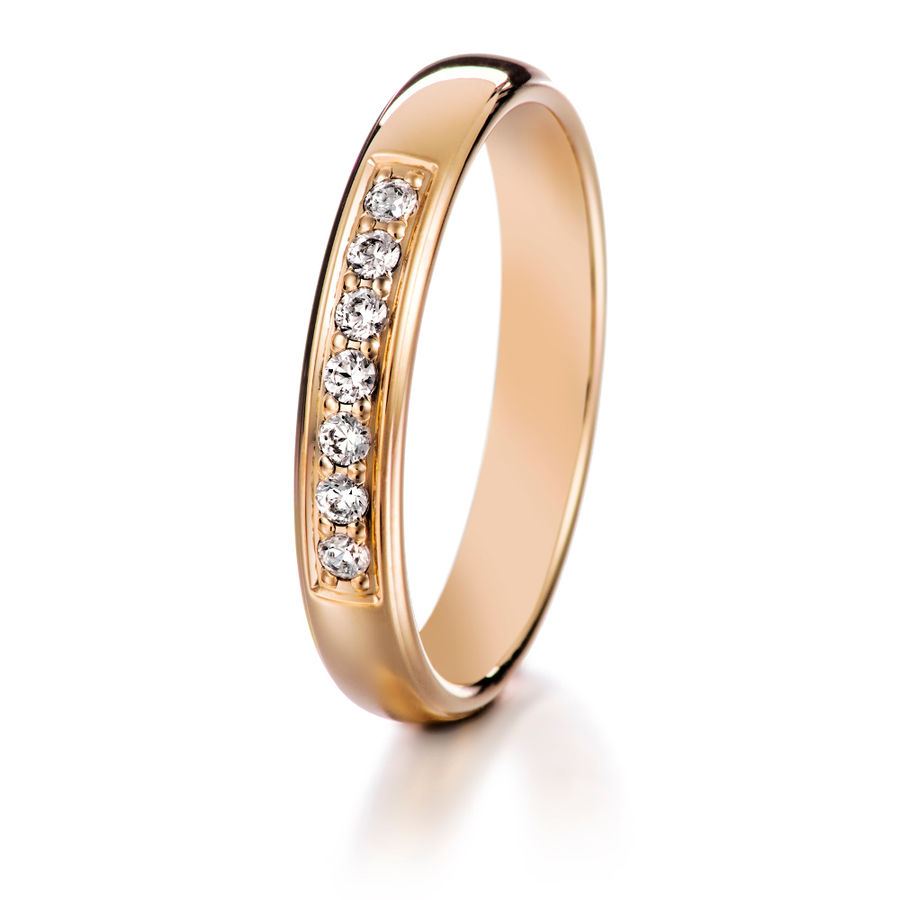 Lumoava Darling diamond ring (gold)
