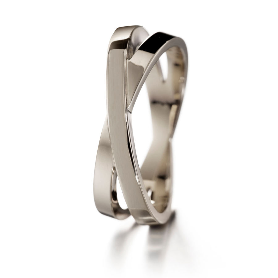 Lumoava Together white gold ring