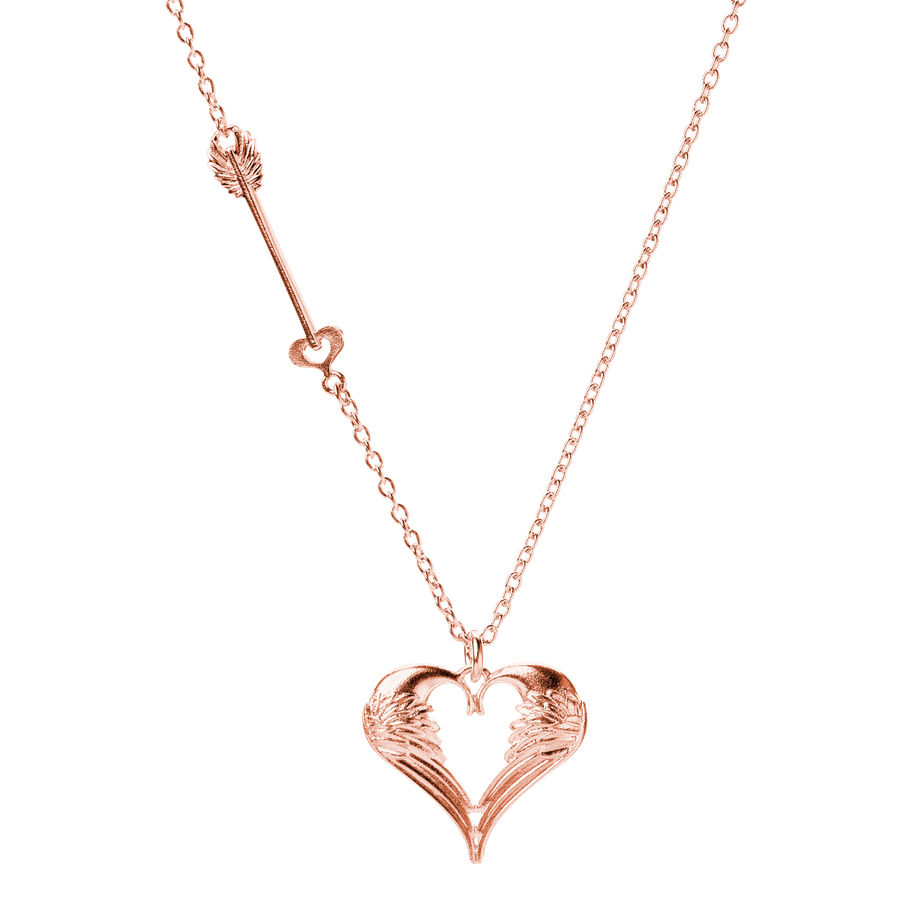 Lumoava Beloved pendant (Rose gold plated)