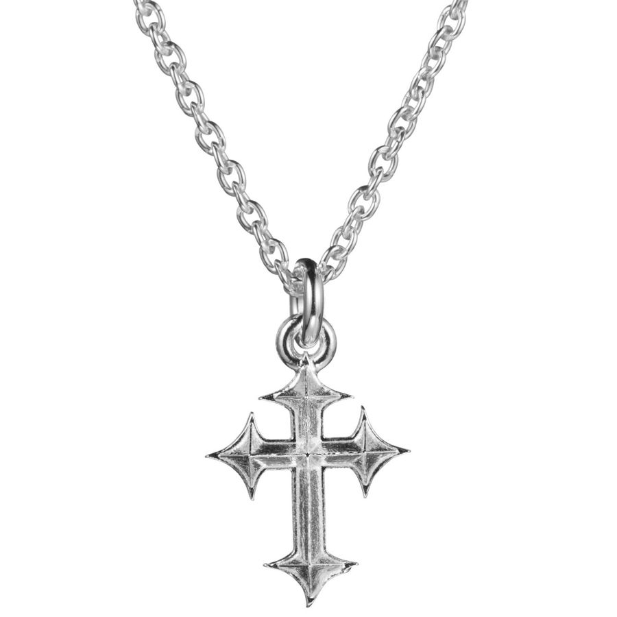 Lumoava Snow white cross pendant