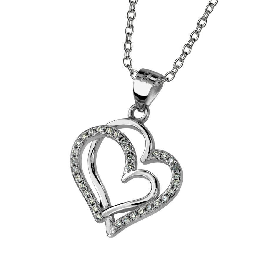 Two hearts pendant saurum designjewellery two hearts pendant aloadofball Image collections