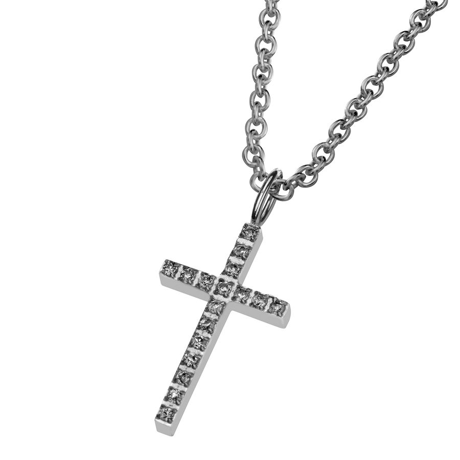 Steel cross 17mm