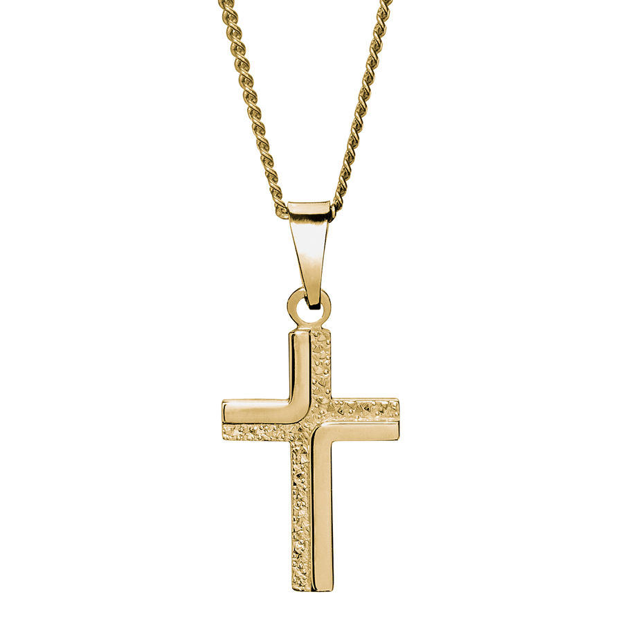 Gold cross 20mm